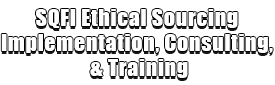 SQFI Ethical Sourcing Implementation, Consulting, & Training Logo